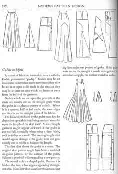 Harriet Pepin on Godets in Skirts - Women's Cutter and Tailor - The Cutter and Tailor