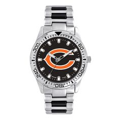 Officially licensed Chicago Bears NFL football watch.