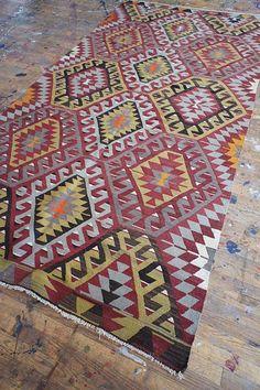 Earthy Anatolian — AELFIE.  love these rugs