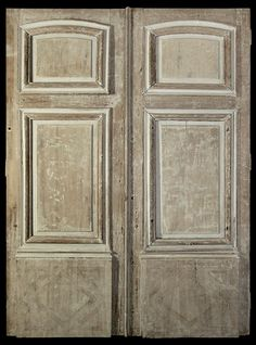 Pair of French Chateau Entry Doors & Amazing Early French Chateau Doors c 1800 | Design Inspiration ... Pezcame.Com