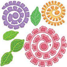 Spellbinders Donna Salazar Bitty Blossoms - Juego de troqueles (6 unidades)