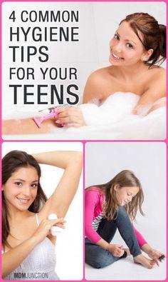 4 Common Personal Hygiene Tips For Tweens And Teens #BeautyHacksForTeens Greasy Hair Hairstyles, Teen Hairstyles, Casual Hairstyles, Medium Hairstyles, Braided Hairstyles, Beauty Hacks For Teens, Beauty Hacks Video, Beauty Tips For Face, Diy Beauty