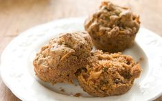 Gluten-free flours combine with apples, carrots, zucchini, raisins and walnuts in these satisfying and nutritious muffins. You can also try our  Whole Grain Morning Glory Muffins.