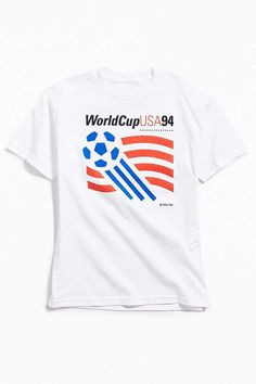 549a852a6 Urban Outfitters World Cup USA 1994 Logo Tee Shopping World