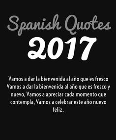 Greetings In Spanish 2017 Happy New Year 2019 Wishes Quotes Poems