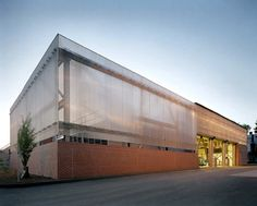 Central Energy Plant by Spillman Farmer Architects. Is light a material?