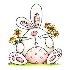 Whipper Snapper Designs is an expansive online store selling a large variety of unique rubber stamp designs. Doodle Drawings, Animal Drawings, Easy Drawings, Doodle Art, Easter Art, Easter Crafts, Easter Bunny, Bunny Drawing, Envelope Art