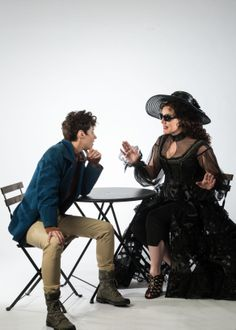"Nell Geisslinger as Viola/Cesario and Melinda Pfundstein as Olivia in Utah Shakespeare Festival's 2014 production of ""Twelfth Night."" (Photo by Karl Hugh. Copyright 2014 Utah Shakespeare Festival.) www.bard.org"