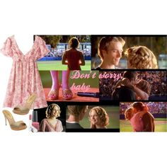Final Scene in Never Been Kissed, created by Never Been Kissed, Romantic Things, Finals, Scene, Songs, Shoe Bag, Closet, Collection, Design