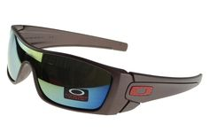 Batwolf Sunglasses brown Frame green Lens