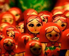 Russian Nesting Dolls #russian_dolls #nesting_dolls #wooden_dolls