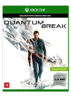 Saraiva Quantum Break - Xbox One (vem com Alan Wake) >>> R$ 171,05