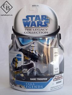 Star Wars - The Legacy Collection - Barc Trooper SL 18 - Figura 10cm / 4