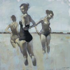 Michael Carson, pintor de la mujer en el mundo de la moda y los garitos