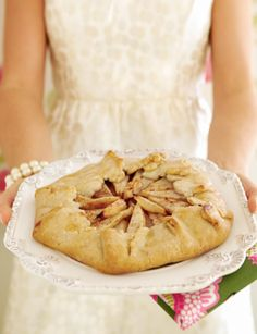 Pretty. Delicious. [Honey Pear Galette]