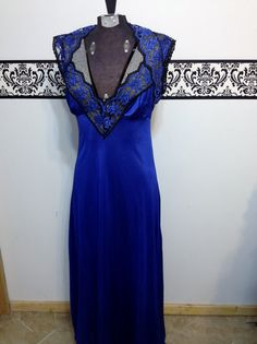 Blue Sweetheart Neckline Vintage Lady Cameo Of by RetrosaurusRex, $34.99