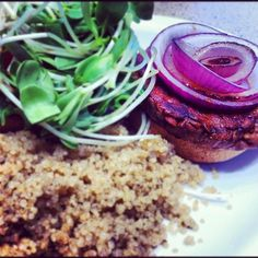 #Vegan #Burger (Taken with Instagram at Mother's Market & Kitchen)