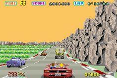 Out Run's Ferrari Testarossa