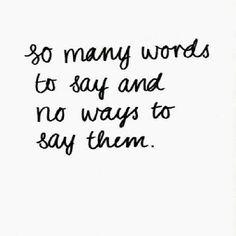 Say it...