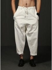 Drawstring Extended Oversize Wide Jeans