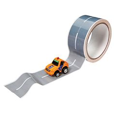 Genius. Donkey Products Autobahn Tape and Race-Car Kit, $13
