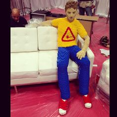 LEGO Chris Hardwick    [Photo by Chris Hardwick] #NYCC