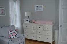 Project Nursery - IKEA HEMNES 8-drawer White Dresser