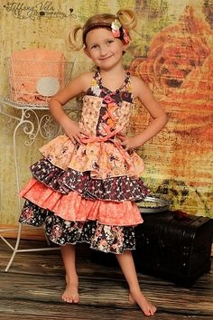 Primrose's Girls Boutique Princess Dress PDF Pattern