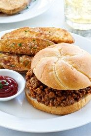 Homemade Sloppy Joes