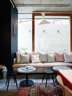 Alex Hotel responds to the overarching concept of the 'Hotel as Home'. Alex Hotel is new boutique hotel in Perth, Australia. Home Interior Design, Hotel Interior Design, Hotel Interior, Decor, Hotel Interiors, 2015 Interior Design, Australian Interior Design, Alex Hotel, Home Decor