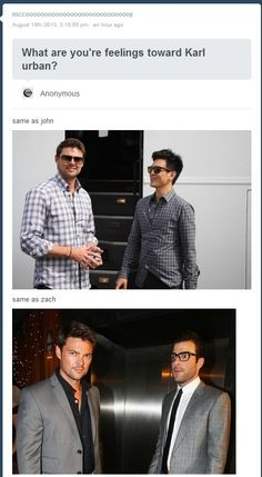 Karl Urban and John Cho