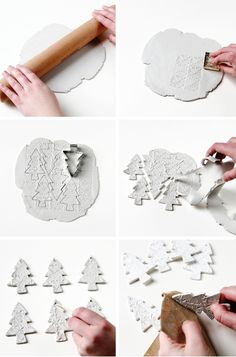 Diy christmas crafts 162833342755289476 - Diy Watercolour Clay Christmas Tree Decorations Source by sugarbeecrafts Homemade Ornaments, Clay Ornaments, Homemade Christmas Gifts, Homemade Gifts, Diy Gifts, Salt Dough Ornaments, Ceramic Christmas Decorations, Diy Christmas Ornaments, Handmade Christmas