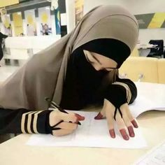 Missing you 😞 Hijab Dp, Hijab Niqab, Muslim Hijab, Hijab Dress, Hijab Hipster, Hijab Chic, Arab Girls, Muslim Girls, Muslim Couples
