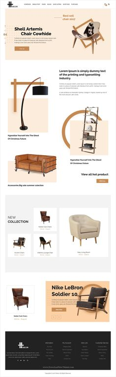 H decor is an awesome design 3in1 responsive #WordPress theme for #furniture, decor or interior #stores eCommerce website download now➩ https://themeforest.net/item/h-decor-creative-wp-theme-for-furniture-business-online/19533639?ref=Datasata