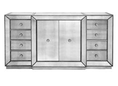 Omni Mirrored Buffet | Buffets-cabinets | Dining-room | Furniture | Z Gallerie