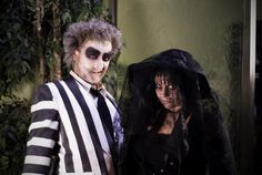 Beetlejuice and Lydia SpecialFX Makeup at HALO SALON  SPA, via Flickr.#Repin By:Pinterest++ for iPad#