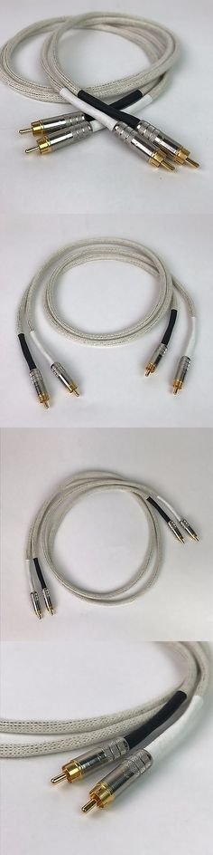 Audio Cables and Interconnects: Duelund Dca20ga Shielded Interconnect Rca Cable Wire 1 Meter - Dueland -> BUY IT NOW ONLY: $149.95 on eBay!