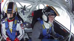 Thierry Neuville @ Tommi Mäkinen Racing rally school 2012