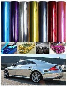 Fab chrome car wraps~