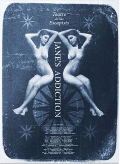 Jane's Addiction – Tickets – State Theatre – Portland, ME – March 2012 Jane's Addiction, Tour Posters, Band Posters, Music Posters, Music Love, Art Music, Rock Music, 1980s Horror Movies, Rock And Roll History