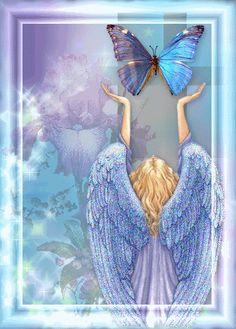 emoticones con angeles