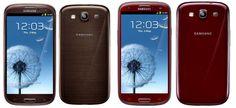 Samsung Galaxy S3 vai ganhar quatro novas cores