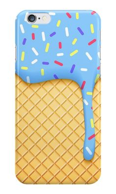 Our Dripping Blue Ice Cream Phone Case is available online now for just £5.99.    Check out this super cool ice cream phone case, we have a pink version available too!    Material: Plastic, Production Method: Printed, Weight: 28g, Thickness: 12mm, Colour Sides: Clear, Compatible With: iPhone 4/4s   iPhone 5/5s/SE   iPhone 5c   iPhone 6/6s   iPhone 7   iPod 4th/5th Generation   Galaxy S4   Galaxy S5   Galaxy S6   Galaxy S6 Edge   Galaxy S7   Galaxy S7 Edge   Galaxy S8   Galaxy S8+   Galaxy…