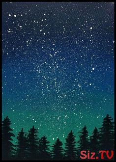 30 Startling Acrylic Galaxy Painting Ideas - Painting Ideas - B Moore Design Inc - 30 Startling Acrylic Galaxy Painting Ideas - Painting Ideas 30 Startling Acrylic Galaxy Painting Ideas - Watercolor Landscape, Landscape Paintings, Watercolor Art, Landscape Tattoo, Nature Paintings, Abstract Landscape, Acrylic Painting For Beginners, Beginner Painting, Acrylic Portrait Painting