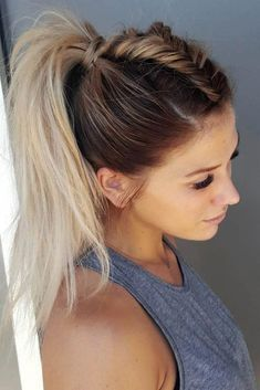 20 Easy and Quick Braided Hairstyles Anyone Can Pull Off! If you are looking for a lovely braided hairstyle for yourself, you may check the collection we have got over here. Take a look 10 Easy and Quick Braided Hairstyles Anyone Can Pull Off! Quick Braided Hairstyles, Cute Hairstyles For Medium Hair, Box Braids Hairstyles, Medium Hair Styles, Cool Hairstyles, Short Hair Styles, Hairstyle Ideas, Wedding Hairstyles, Spring Hairstyles