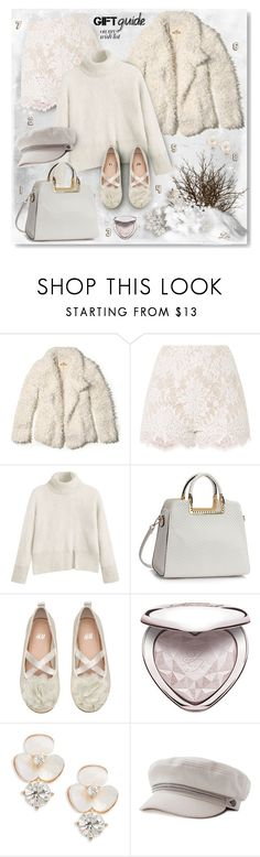 """#PolyPresents: Wish List II"" by breathing-style ❤ liked on Polyvore featuring Hollister Co., H&M, Too Faced Cosmetics and Kate Spade"