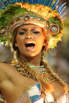 Colors, freedom, elation and smile. Recreation Without Borders, explosion of happiness and relaxation. Brazilians prepared for months the biggest carnival of the modern world.