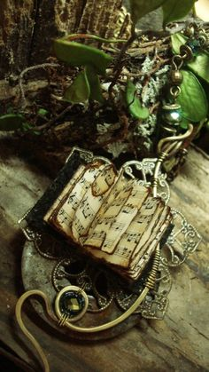 """luthienthye:  ~ wearable books ~ """" you alone can make my song take flight help me make the Music of the Night .."""" Music of the Night by Luthien Thye"""