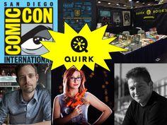 Quirk Books at San Diego Comic-Con 2015