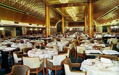 S Nieuw Amsterdam Champlain Dining-Room Nautical Interior, Holland America Line, Ways To Travel, Rotterdam, Ships, Yachts, Hal Cruises, Ocean, Dutch